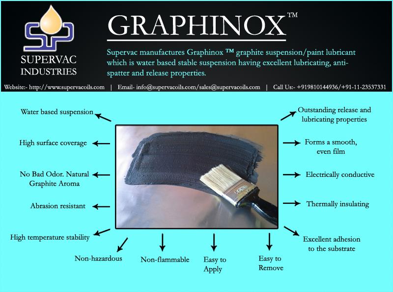 Graphite Suspension/Paint/Lubricant Manufacturer - Supervac India
