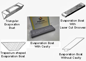 Evaporation Boat - 2 Components